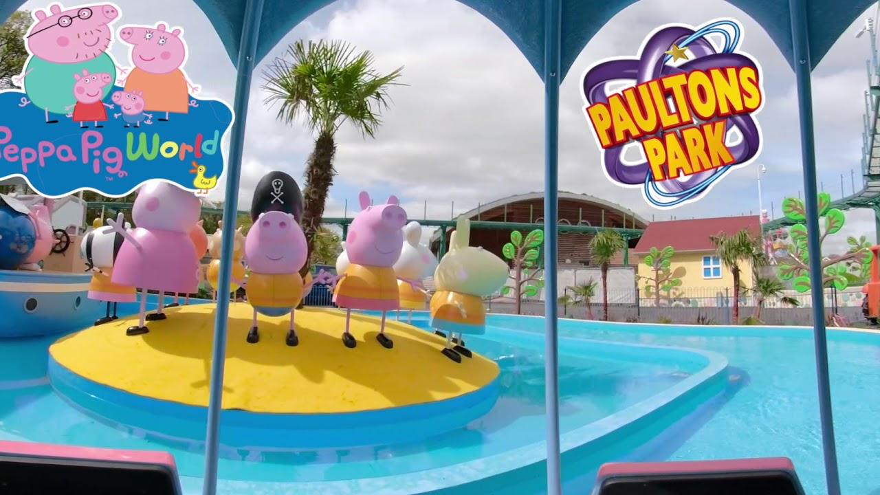 360 Tour On Grampy Rabbit S Sailing Club Ride At Peppa Pig World