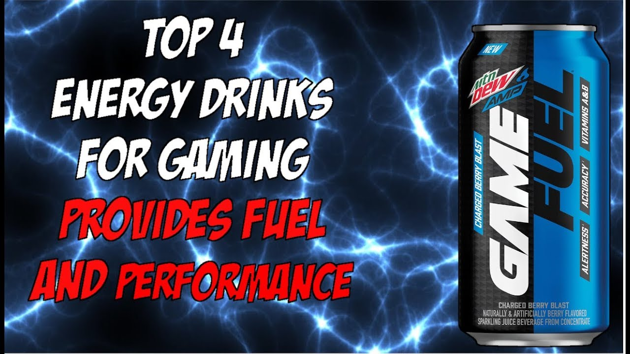 Top 4 Energy Drinks for Gaming Provides Fuel and Performance