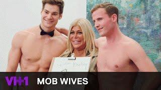Mob Wives | Big Ang Raiola Cheers Up With Nude Male Models | VH1