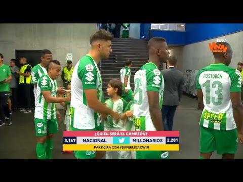 Previa de la final de la Superliga Aguila 2018 entre Nacional y Millonarios