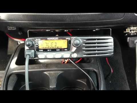 Scanning VHF with Kenwood TM-281A