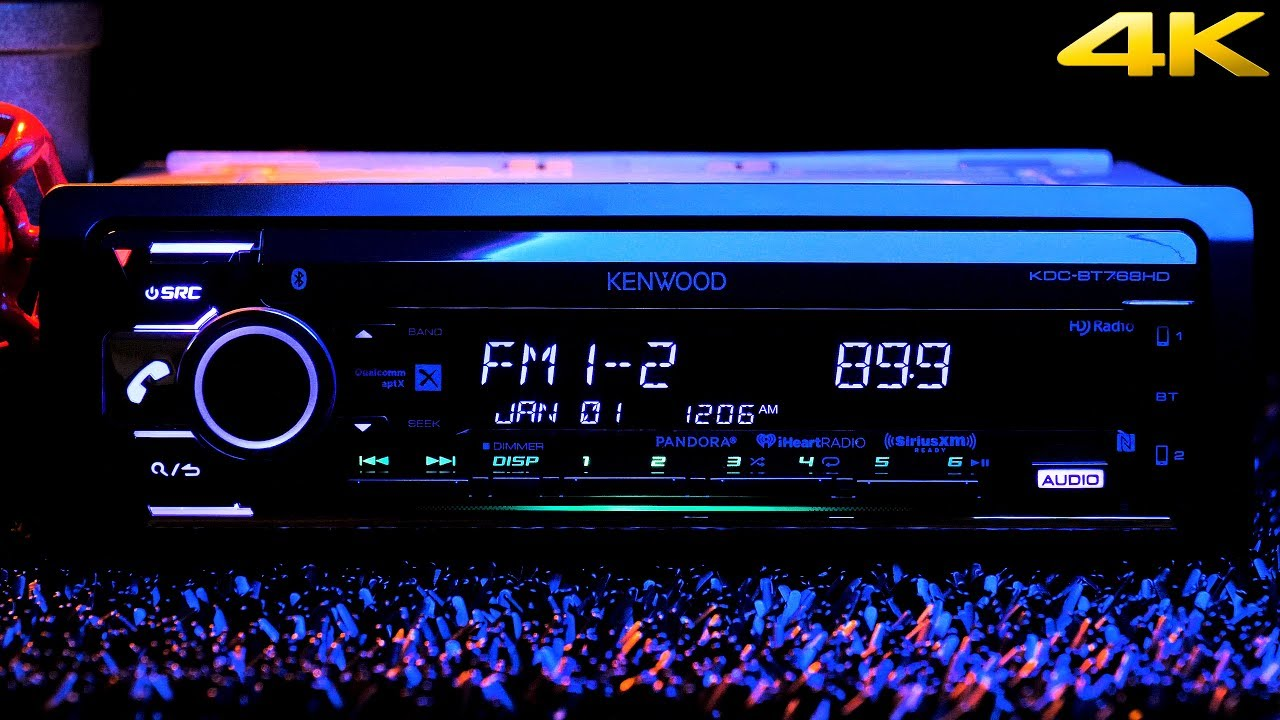 kenwood kdc bt768hd hd radio bluetooth dual usb  [ 1280 x 720 Pixel ]