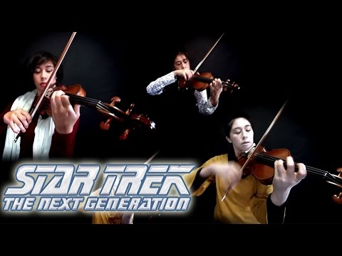 Star Trek: The Next Generation ~ Theme (violin)