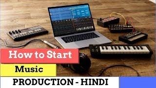 Ableton live 9  beginners tutorial -Pt 1   Hindi