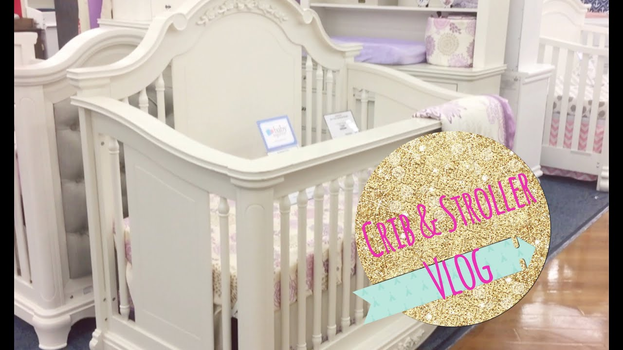 Baby cribs buy buy baby - Shopping For A Crib Stroller Vlog Buybuy Baby