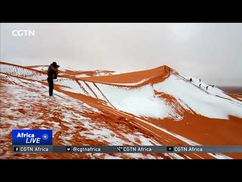 Snow in the Sahara Desert for the third time in 40 years