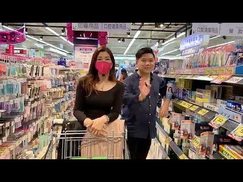 梁芷珊 x 趙博趙善軒 逛高雄家樂福 體驗臺南生活! - YouTube