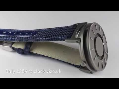 Eone Watch – Bradley – Classic Canvas – Aqua Review
