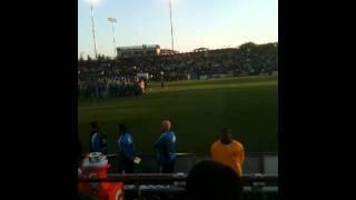 National Anthem, SJ Earthquakes 5/21/2011