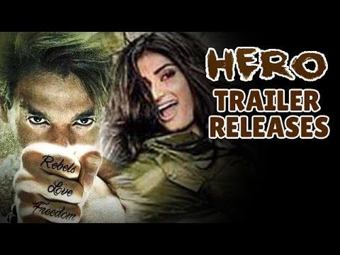 Hero Movie Official Trailer Releases   Sooraj Pancholi, Athiya Shetty   Salman Khan Films