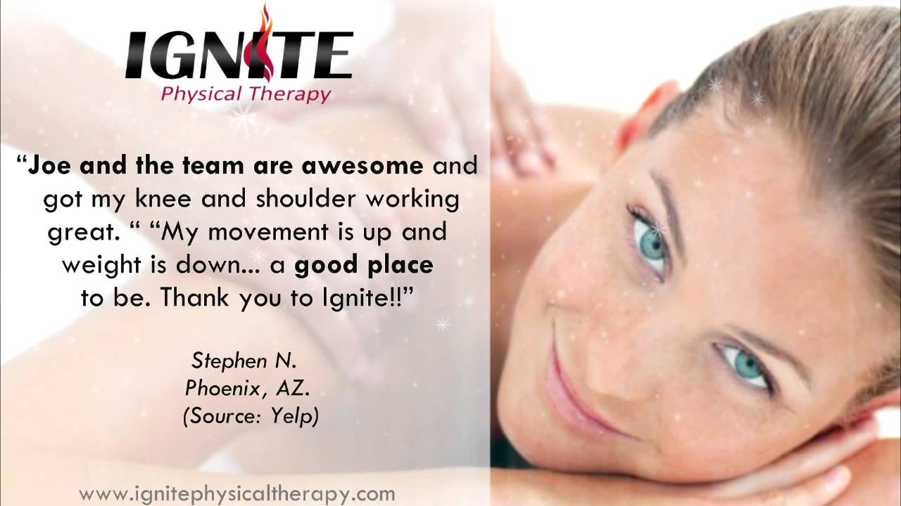 Ignite Physical Therapy - Reviews - Chandler, Arizona ...