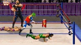 WWF Wrestlemania: The Arcade Game (Saturn) Playthrough - NintendoComplete