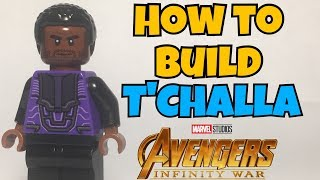 HOW TO Build T'Challa/Black Panther from Avengers: Infinity War