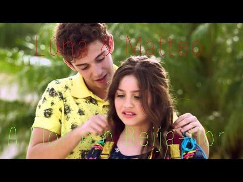 Luna & Matteo | A flor e o beija-flor