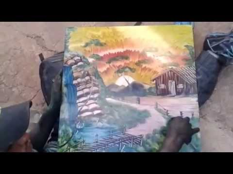 Mãos Fazendo Artes Pintura