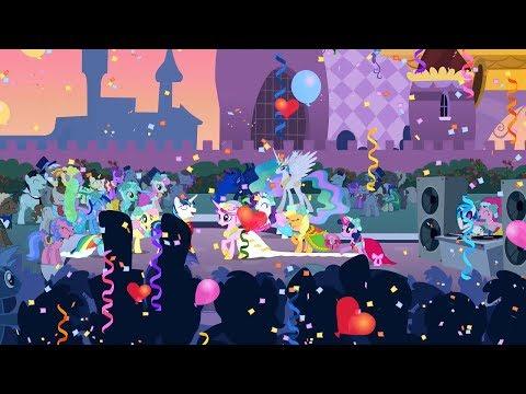 Twilight Sparkle & Fluttershy Ft. Applejack - Love Is In Bloom (With Lyrics)