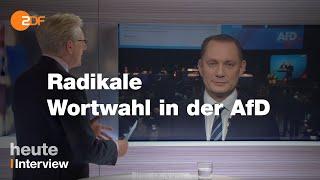 Neuer AfD-Chef Chrupalla über die Verwendung von Begriffen aus der Nazi-Sprache