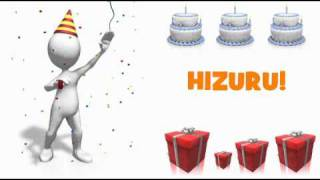 HAPPY BIRTHDAY HIZURU!