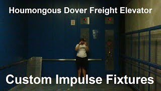 a humongous dover impulse hydraulic freight elevator with captainelevator42189