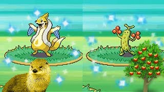 2 Live Shiny Pokemon! Floatzel and Sudowoodo!