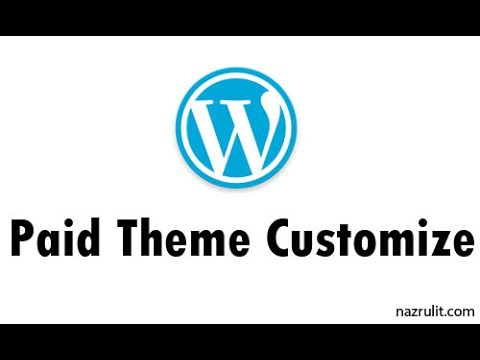 How to Customize Alaska WordPress Paid Theme.