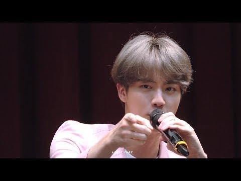 [방탄소년단 진] 석진이가 아미들과 놀아주는 방법 190421 알라딘 팬싸인회 BTS Jin focus fancam [Jin Interactions with Fans]