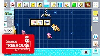 Super Mario Maker 2 Gameplay Pt. 3 - Nintendo Treehouse: Live | E3 2019