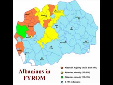 Minorities in the former yugoslav republic of macedonia