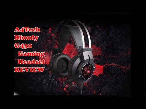 A4Tech Bloody G430| CHEAP $25 GAMING HEADSET REVIEW| TECHBLUR