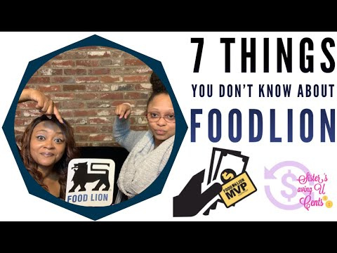 SEVEN Things You Don't Know About Food Lion | Grocery Shopping & Couponing