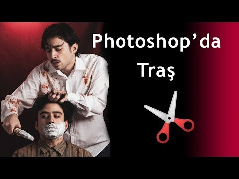 Photoshop'da SWEENEY TODD Olmak!!