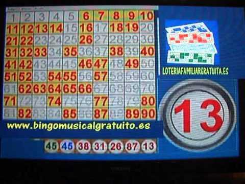 partida de bingo en dvd