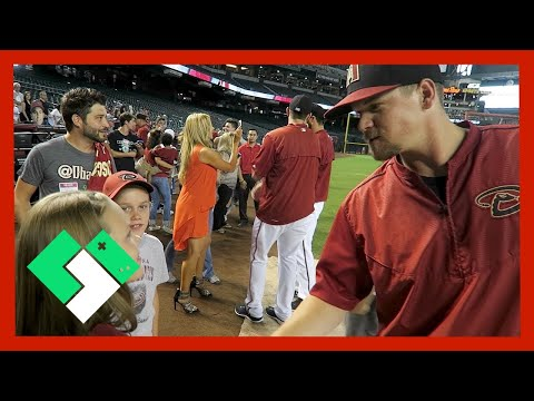 VIP WITH THE ARIZONA DBACKS (6.30.15 - Day 1187)