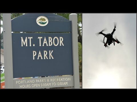 Mt  Tabor with the Drone