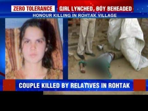 Honour killing in Rohtak village