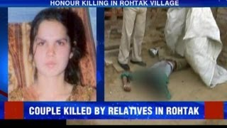 Honour killing in Rohtak village
