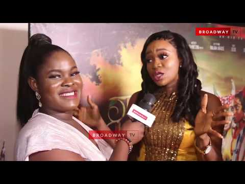 "AY, Mercy Johnson, Debola Lagos and Others At ""The Legend Of Inikpi"" Premiere"