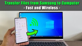All Samsung Galaxy Phones: How To Wirelessly Transfer Files, Photos, Videos to Windows 10 Computer screenshot 3