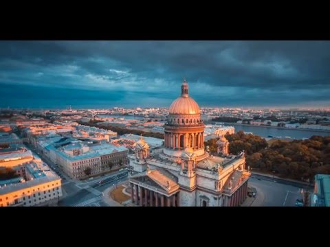 Saint Petersburg - aerial view / Санкт-Петеобург - вид с пти