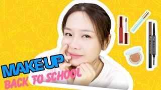 ♡ BACK TO SCHOOL MAKEUP ♡
