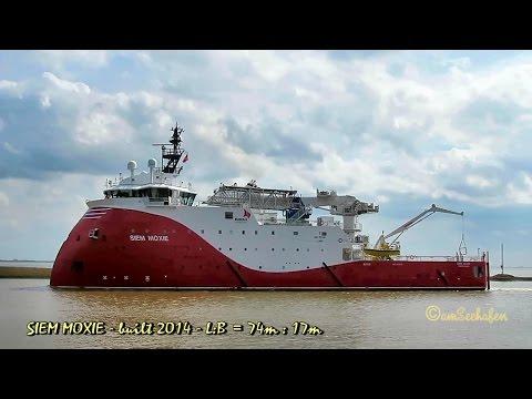 offshore supply vessel SIEM MOXIE LARE7 IMO 9676216 Emden
