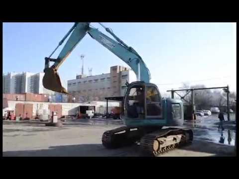 Видео-обзор на ГУСЕНИЧНЫЙ ЭКСКАВАТОР KOBELKO SK 200 SR 2000 ГОДА