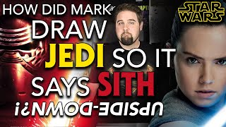 IMPOSSIBLE ART ! How to draw JEDI so it says Sith upside-down, Star Wars The Ambigram Artist S1E14