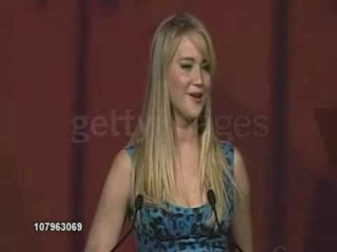 Jennifer Lawrence SPEECH at the 22nd Annual Palm Springs International Film Festival Awards Gala