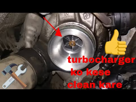 how to clean turbocharger BMW 5 series low pickup & drivetrain problem