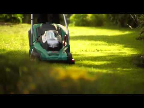 Lawn Mower Bosch Rotak 43 LI Ergoflex Cordless Rotary Lawnmower