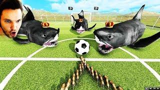 DIESE ART VON FUßBALL IST GESTÖRT !!! - BEAST BATTLE SIMULATOR