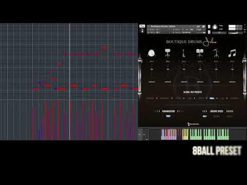 Boutique Drums Jolene - Preset Playthrough