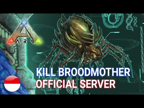 How to Kill Broodmother Lysrix BOSS FIGHT ARK Survival Evolved Official Server PS4 Pro