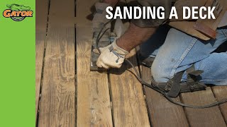 Gator Finishing  — How To Refinish Your Deck Video